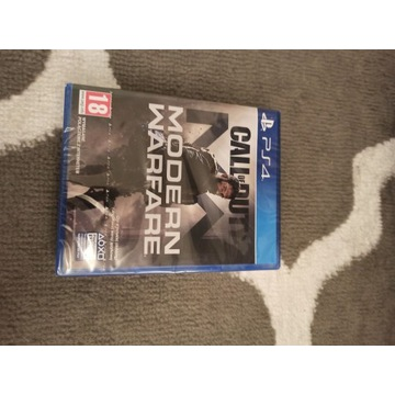 Call of Duty Modern Warfare PL NOWA FOLIA PS4