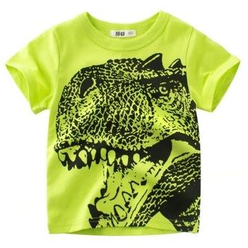 NOWA koszulka z dinozaurem roz. 104