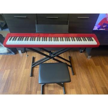 Pianino cyfrowe CASIO Privia PX-S1000 RED +dodatki