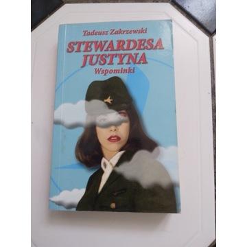 Stewardesa Justyna.Wspominki Tadeusz Zakrzewski.