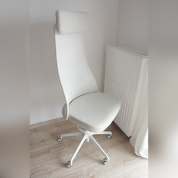 Krzesło biurowe Ikea JÄRVFJÄLLET Gunnared beżowy