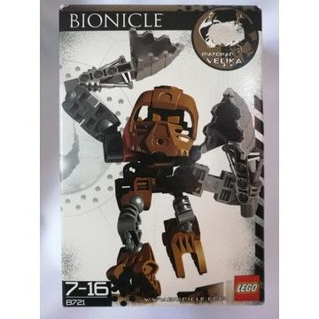 Unikatowy zestaw LEGO Bionicle Velika 8721-1