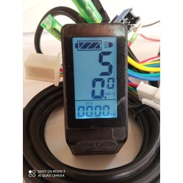 Wyświetlacz LCD KT04 do roweru elektrycznego lub h