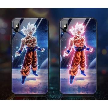 iPhone X XS etui led podświetlane