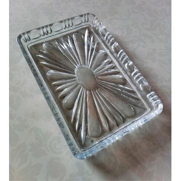 Kryształowa tacka - patera