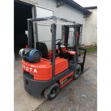 Wózek widłowy Toyota, stan BDB 1,5t.  6012MTH