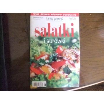 ksiązka Sałatki i surówki