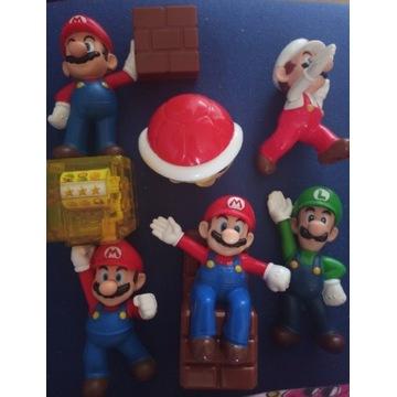 Figurki Super Mario Nintendo Mc Donalds zestaw