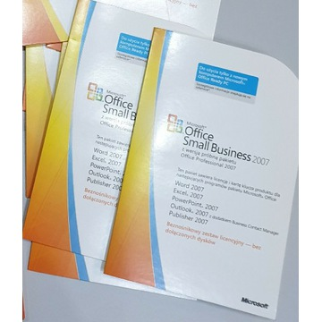 Microsoft Office Small Biznes 2007