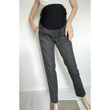 z138 spodnie ciążowe eleganckie H&M MAMA 40