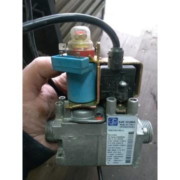 Zawór gazowy do kotła.