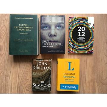 """Książka """"The Summons"""" autor J. Grisham w języku EN"""