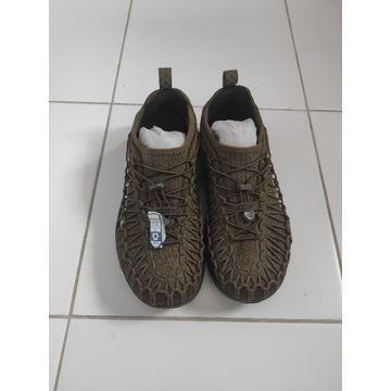 UNEEK - obuwie hikingowe - khaki 42.5( 27.5cm)
