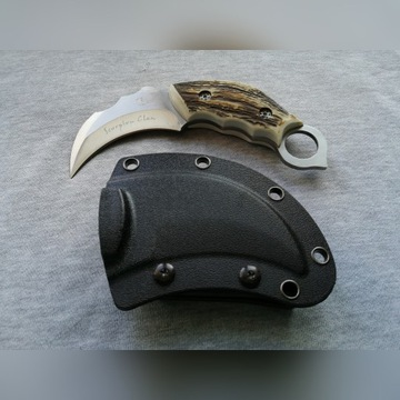 Nóż Karambit Scorpion fixed tactical fight NOWY
