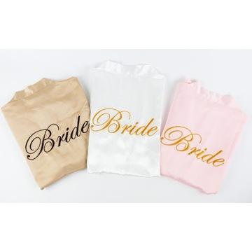 "Szlafroki ślubne ""Bride"" ""Bridesmaid"""
