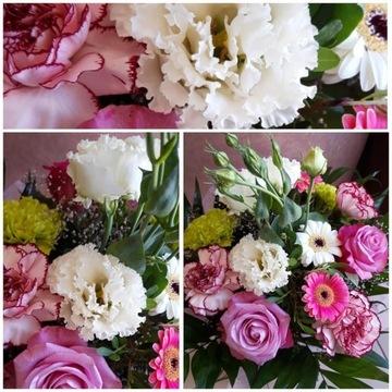Bukiet Dzień Matki Mamy żywe kwiaty Imieniny
