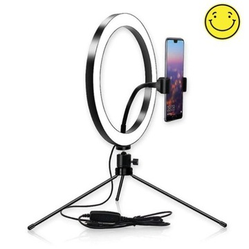 Lampa  MINI RING 26cm USB LED