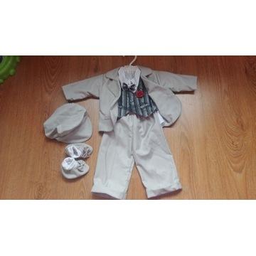 Ubranko  garnitur do chrztu dla chłopca  68