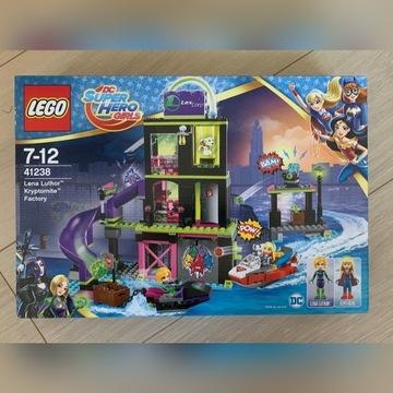 LEGO 41238 DC Super Hero Girls Fabryka Kryptomitu
