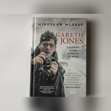 """Autograf  książka Mirosław Wlekły - """"Gareth Jones"""""""