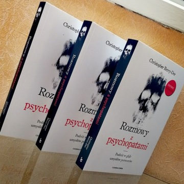 Rozmowy z psychopatami CH. BERRY-DIE nowe książki