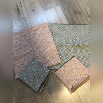 Poszewki H&M na poduszki 4szt. 50x50cm