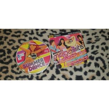 Płyty CD Bravo Megahits i Summer Dance