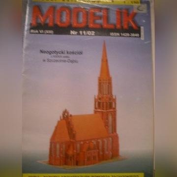 Kościół neogotycki - Modelik