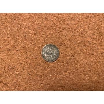 1 silber groschen 1843