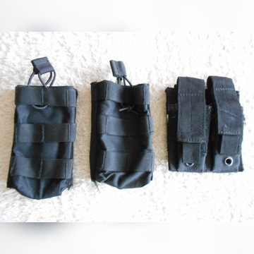 ŁADOWNICE  MOLLE SYSTEM BLACK, M4