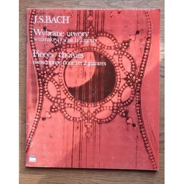 Bach - utwory wybrane na 1 i 2 gitary