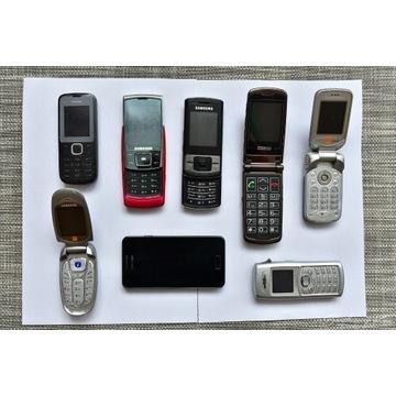 Stare telefony Samsung i inne