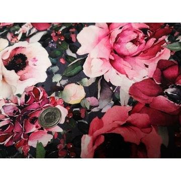 Wiosenne kwiaty na pętelce. Cena za 1mb!!!!