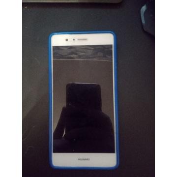 Huawei P8 Lite + etui i założone szkło