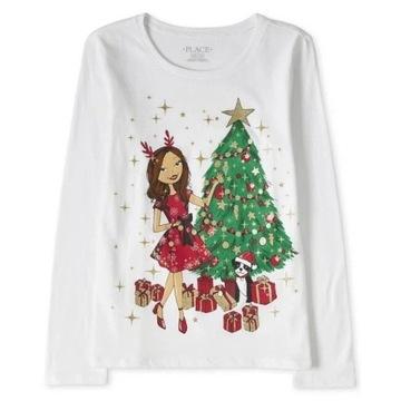 Childrens Place bluzeczka Glitter Girl 10-12 lat