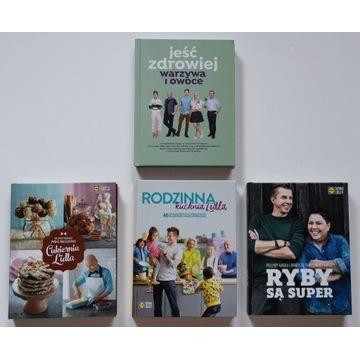 Zestaw 4 książek z Lidla - używane