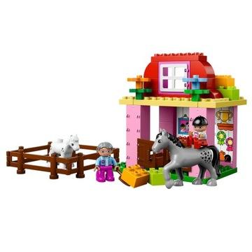 -= LEGO DUPLO 10500 - STAJNIA FARMA KONIE =-