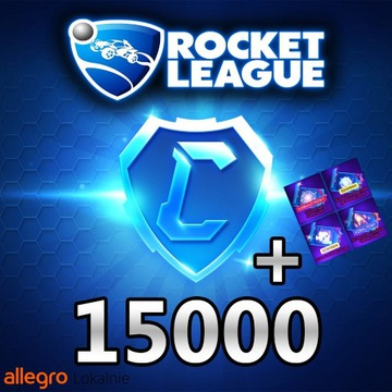 ROCKET LEAGUE 15000 KREDYTY/CREDITS 15K [PC]