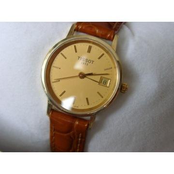 Zegarek damski Tissot złoty 18k