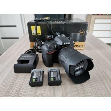 Nikon D7100 + 18-105 VR Kit stan idealny