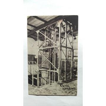 Wieliczka klatki zjazdowe pocztówka 1922r.