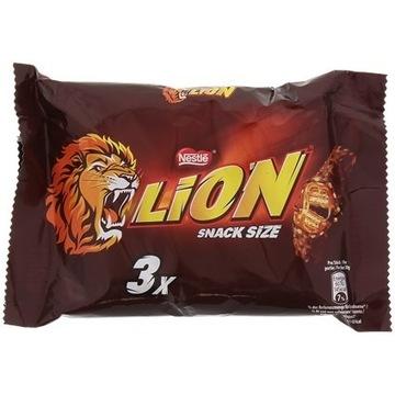 Lion baton przekąska Nestlé 3 sztuki