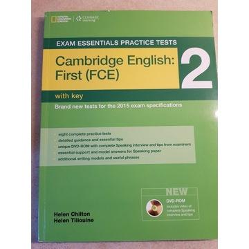 CAMBRIDGE ENGLISH FIRST (FCE) 2 WITH KEY +CD