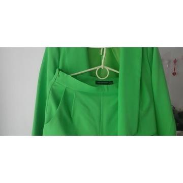 Elenacki garnitur kostium zielony damski 38 M