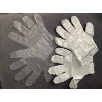 Rękawiczki zrywki – jednorazowe/ ochronne/ rękawic