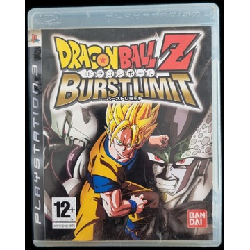 Gra na PS3 DRAGON BALL Z BURSTLIMIT