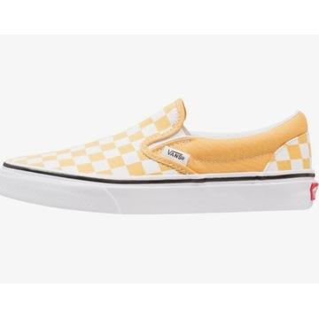 Vans CLASSIC SLIP-ON - sneakersy żółty * 37 NOWY