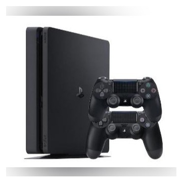 PS4 slim 1TB, 2pady + 5 gier(RDR2,GTA) - jak nowa!