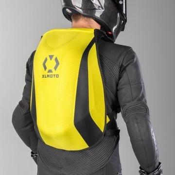 Plecak motocyklowy na motor hulajnoga neo fluo