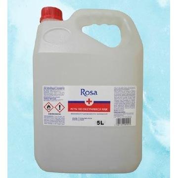 Płyn do dezynfekcji rąk ROSA 5L